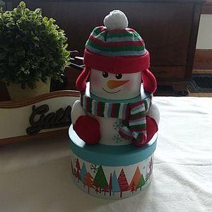 2/$10 Snoman Nesting/Gift Box